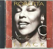 Roberta Flack ?– Set The Night To Music  Cd
