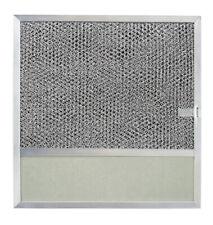 Broan  11-3/8 in. W Silver  Aluminum Replacement Range Hood Filter