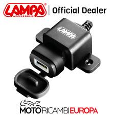 Presa USB Moto con Ricarica Veloce 12/24v Lampa 38878