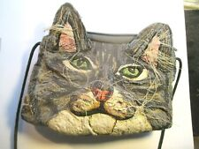 Wonderful Cat Face Cloth Handbag