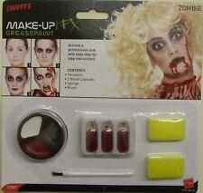 Halloween costume zombie makeup set face paint smiffys sponges