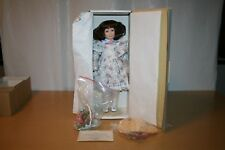 Gorham Porcelain Doll, Rose The Victorian Flower Girl in Box with COA