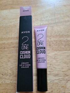 Pillowy Pink Avon 2-in-1 Cushion Cloud Creamy Lip Cheek Colour Lipstick Blusher