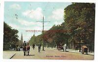 Yorkshire Hull Anlaby Road Vintage Postcard 7.9
