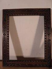 Art Déco 30 Cadre Orientaliste Bois Sculpté 2/3 Orientalist Frame High Quality
