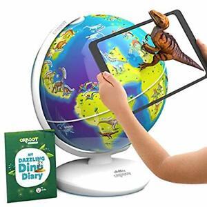 Orboot Dinos AR Globe by PlayShifu App Based - World of Dinosaur Toys Educati...