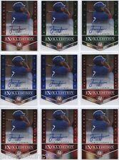 Lot of (19) Jamie Jarmon 2012 Panini Elite Auto RC's - Texas Rangers Prospect OF