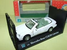 MERCEDES CLK 320 Cabriolet Blanc CARARAMA