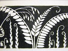 "Don Blanding 1937 ""THE DARKER PAIN"" FLOWERS in the NIGHT Art Deco Print Matted"
