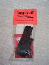 Snowboard Lock and Leash Combo Unit