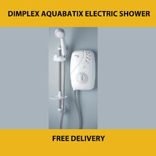 DIMPLEX / GALAXY AQUABATIX ELECTRIC SHOWER AX4 8.5 KW WHITE