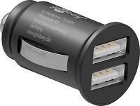 Auto KFZ Ladegerät Dual USB Ladegerät Mini KFZ Ladeadapter Zigarettenanzünder