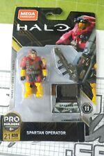 Mega Construx Halo Spartan Operator BLOKS LEGO KRE-O MOC SEALED FIG