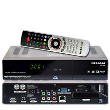 Megasat HD 935 Twin HDTV Sat Receiver USB PVR ready Live Stream Mediacenter