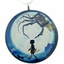 "Coraline 2"" Glass Circle Christmas Ornament"