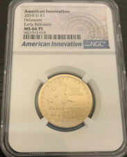 2019 D $1 DELAWARE NGC MS66 PL AMERICAN INNOVATION DOLLAR EARLY RELEASES