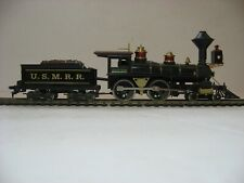 Beautiful and elegant Ho scale old time 4-4-0 painted to match the Lincoln Train