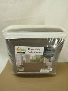 """Easy-Going Sofa Slipcover Reversible Sofa Cover Water Resistant Couch Cover 66"""""""