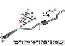 BMW 1' 3' X1 Z3 Z4 Series E81 E87 E87 LCI E88 E82 E36 E46  Bracket Front Muffler