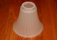 5 Quot Frosted Lily Shape Glass Light Bulb Fixture Cover Shade