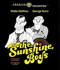 The Sunshine Boys Blu-ray (1975) - Walter Matthau, George Burns, Herbert Ross