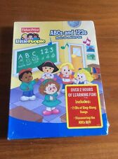 Fisher Price Little People - ABCs and 123s CD/DVD Set (New & Sealed)
