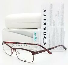 NEW Oakley Taxed RX Prescription Eyeglasses Frame Cabernet OX3182-0349 49mm 3182