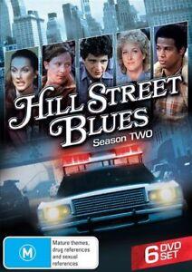 Hill Street Blues Season 2 DVD 6 disc set New and Sealed Australia Region 4
