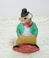 The Mousetown Collection, Fun Loving Sam, Mouse Figurine, Reco