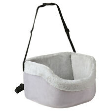 Me & My Pets Soft Grey Car Booster Seat Dog/puppy Safety Travel Carrier Bed/bag