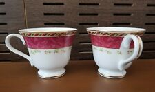 2 PC Set 2001 ROYAL ALBERT OLD COUNTRY ROSES SEASONS OF COLOUR Tea Coffee Cup