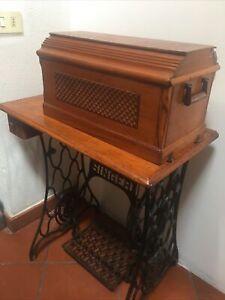 singer macchina da cucire antica
