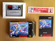 Game ☆ MEGA MAN X Capcom Super Nintendo SNES Super NES PAL ☆VGC Hard to find