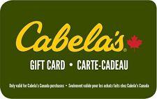 Cabela's Gift Card- $50 Mail Delivery