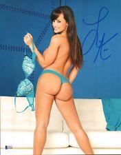 Lisa Ann Signed 11x14 Photo BAS Beckett COA MILF Porn Star Picture Autograph 243