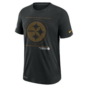 Brand New 2021 Pittsburgh Steelers Nike Sideline Team Issue Performance T-Shirt