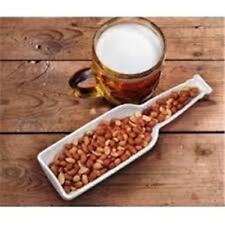 Fred & Friends Beer Bites White Porcelain Snack Holder- New/Bnib