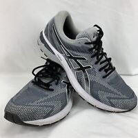Asics Mens GT 2000 8 1011A691 Gray Running Shoes Lace Up Low Top Size 16 Wide