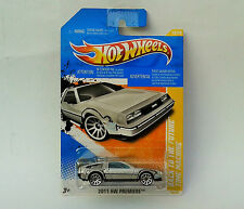 HotWheels Diecast 2011 - Back To The Future DELOREAN TIME MACHINE - NEW - Sealed