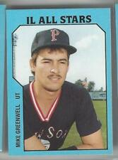 1985 TCMA INTERNATIONAL LEAGUE ALL STARS SET 45 CARDS SLIDER, GRUBER GREENWELL