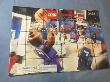 Genuine LEGO Sports Ultimate Arena Instruction Manual 3433 No Bricks