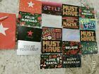18 Macy's Department Store Christmas New Year Empty Gift Card Collectible Lot  For Sale