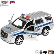 Diecast Vehicles Scale 1:36 Cadillac Escalade Russian Police Model Car