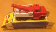 MATCHBOX 71c FORD HEAVY WRECK TRUCK ESSO BOXED