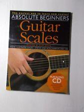 * Guitar Scales Absolute Beginners Songbook- Step By Step
