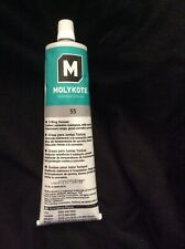 Dow Corning Molykote 55 O-Ring Silicone Grease Lubricant 5.3Oz Tube Brand New