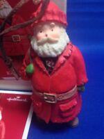 Kris Kringle Hallmark Ornament Christmas Santa Claus Collection 2003 Retired Box