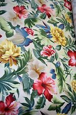 "4 Yards Floral Pattern ""Interior Fabric Design"" Home Decor Upholstery Sewing"