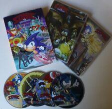 SONIC THE HEDGEHOG COMPLETE 1993 SERIES dvd set REGION 0 sega RARE anime CARTOON