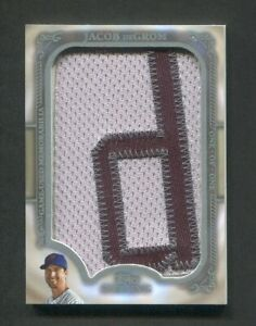 2020 Topps Sterling Jacob DeGrom Game Used Letter Patch 1/1 New York Mets